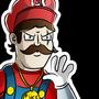 Badass Mario by SemiCubic