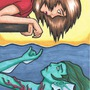 Meeting a Mermaid by WobbleLikeAJelly