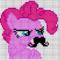 Pinkie Mustache