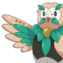 Rowlet Evolution-line by DrApfelwurst