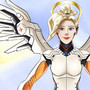 Overwatch - Angel of Mercy by kenDandy
