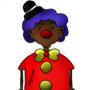 Simplistic Clown by AngelJamJamz