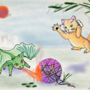 Dragons Vs Kittens Art Challenge by Jazza by BelleAim