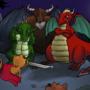 Dragons vs Kittens (monthly challenge)