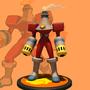 MMBN fanart - FireMan.EXE by ionrayner