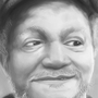 Redd Foxx value study by LurkinMcClerkin