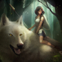 Princess Mononoke by clayscence