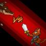 DRAGON VS A KITTEN KNIGHT by guwibo
