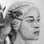 Daenerys Targaryen - Game Of Thrones by Damrock