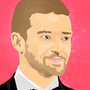 Justin Timberlake - Adobe Photoshop CS5 by AleunaM