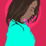 Kat Graham - Adobe Illustrator by AleunaM
