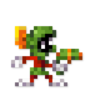 Day #56 - Marvin the Martian by JinnDEvil