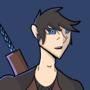 Blue eyed guy! by Littleninja02
