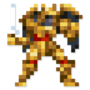 Day #57 - Goldar by JinnDEvil