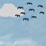 Birds in the Sky by evanmacrone