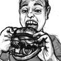 Cheeseburger Man!!!! by Psychosoup