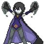 Pixel Art Raven by thief9