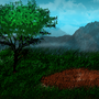 Nature video game background by Modnex