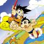 Goku Versus Astroboy by Banzchan