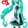 Hatsune Miku by tiffunee