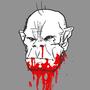 Ded monkey head by Monsterman-Fiend