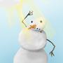 Snowman by Balazeal