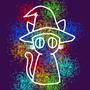rainbow cat by A-Shragai