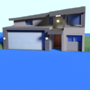 3D model of a house by Mujtahid
