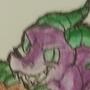 pshyco with pet dragon by HunterDrawz