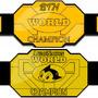 Internet Championship Belts by EKM
