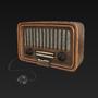 Vintage Radio by DoloresC