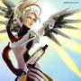 Overwatch - Mercy by JoanaB