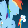 Rainbow dash wall paper by spottysneeky