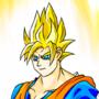 Goku SSJ by Galejro