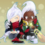 Chibi Academy Vlad & Ekko by Tildhanor
