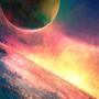 Spacescape - speedpainting by BaukjeSpirit