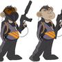 Brass Monkeys by MortenBruno