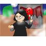 Murderer in a Maze by JOJOartboy