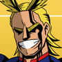 All Might by Plazmix