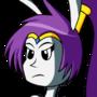 Vivi cosplays Shantae