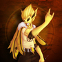 Rocker Jolteon by Pepiwy