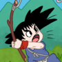 Kid Goku Fishing by Donpatch-XD