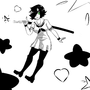 Sailor Fuku Sally [sparkly ver.] by Rocketchoochoo