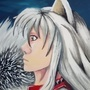 Inuyasha paint by jerry-roberts