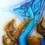 Mongoose and Cobra by Phantomystique
