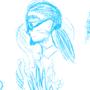 Character Design Sktches - MixnMatch by BTWComics