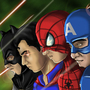 Coolest Superhero Team-up by DIWAKAR