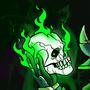 Darga Langheart, Necromancer by ScaredyDave