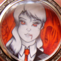 Vampiress Locket by Galejro