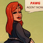 Black Widow -PAWG Agent - Cartoon PinUp by HugoTendaz